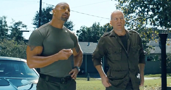 G.I. Joe 2 Retaliation 3D starring Dwayne Johnson and Bruce Willis G.I. Joe: Retaliation 3D Conversion Preview   Was It Worth the Wait?