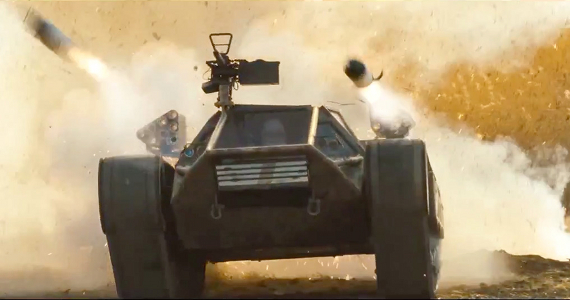 GI Joe Retaliation Roadblocks Tank G.I. Joe: Retaliation 3D Conversion Preview   Was It Worth the Wait?