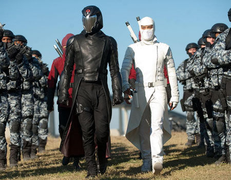 GI Joe Retaliation - Cobra Commander and Storm Shawdow