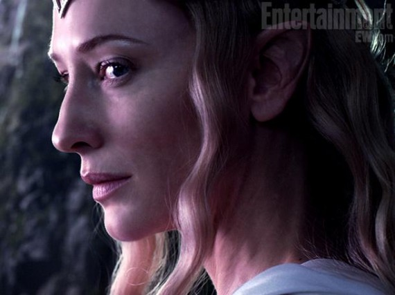 Cate Blanchett as Galadriel in The Hobbit