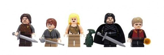 Game of Thrones LEGO Character Minifigs 570x194 SR Geek Picks: Red Dead Redemption Film, Man of Steel/Star Trek Mashup, Game of Thrones LEGOs & More
