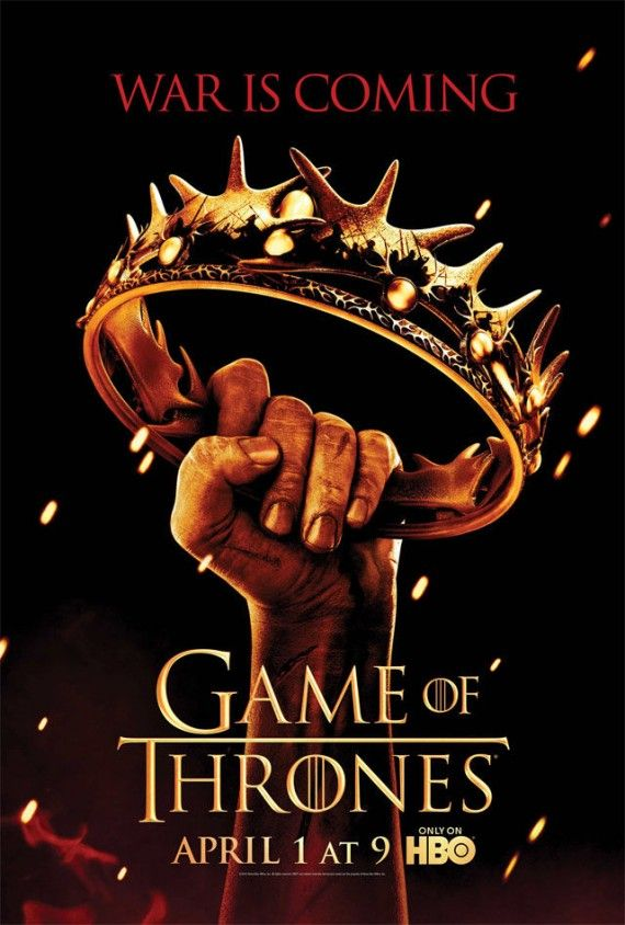 Game of Thrones Season 2 Poster 1 570x844 Game of Thrones Season 2 Poster