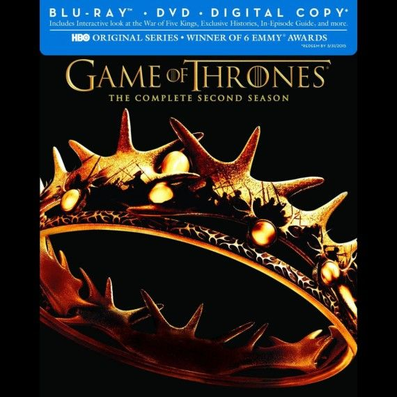 Game of Thrones Season 2 blu ray 570x570 Game of Thrones Season 2 blu ray