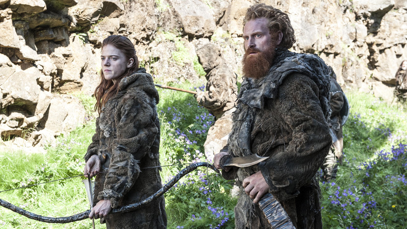 Game of Thrones season 4 Ygritte and Tormund Game of Thrones season 4   Ygritte and Tormund