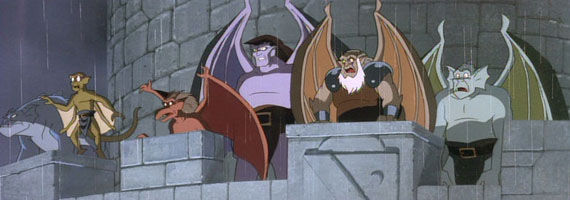 Gargoyles cartoon Disney Developing Gargoyles Movie