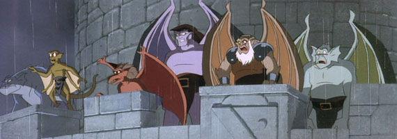 Gargoyles cartoon Disney Developing Gargoyles Movie