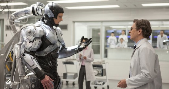 Gary Oldman as Dr. Dennett Norton in 'RoboCop'