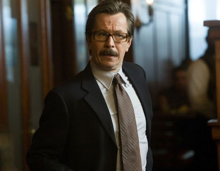 Gary Oldman as Commissioner Gordon in The Dark Knight Rises