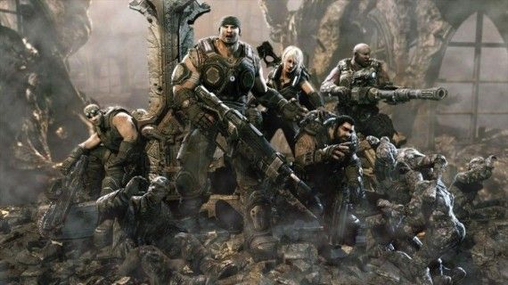 Gears of War Characters 570x320 Gears of War Movie Development Nearly Back on Track