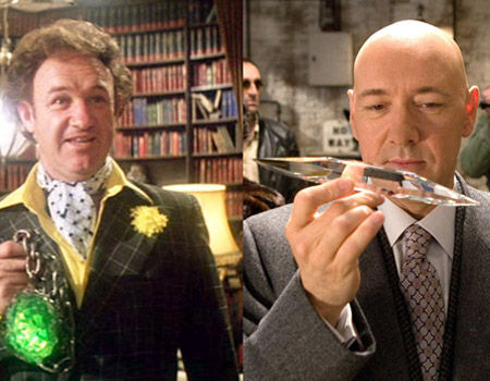 Gene Hackman Kevin Spacey as Lex Luthor