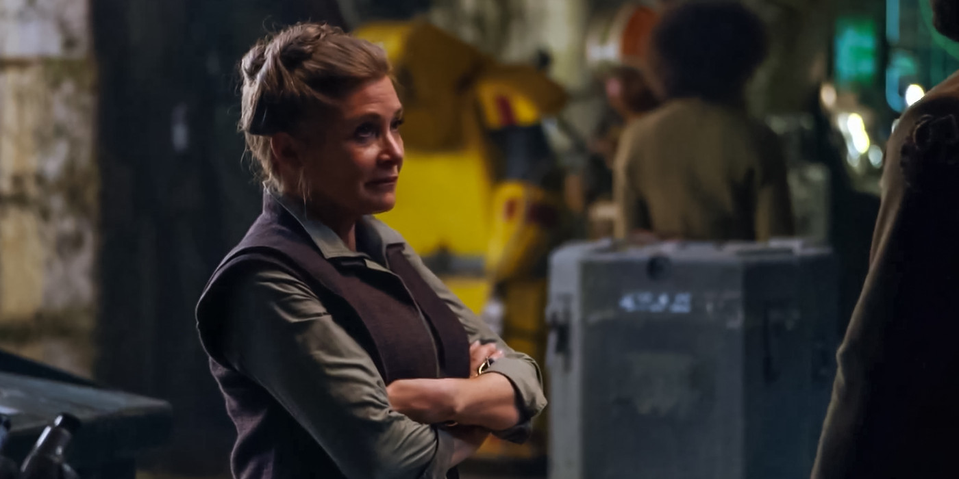 General Leia Organa Star Wars 7 The Force Awakens