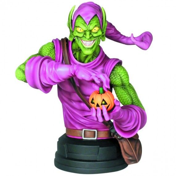 Gentle Giant Studios Green Goblin Mini Bust 570x570 SR Geek Picks: Tiny Adventure Time Art, Star Wars Cake Pops & James Bond Art