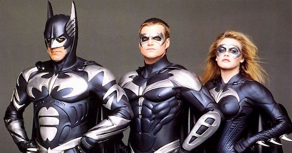 George Clooney Bashes Batman Robin Can You Judge a Comic Book Movie By Its Superhero Costumes?