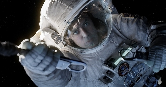 George Clooney in Gravity Gravity Review