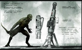 Amazing Spider Man Character Concept Art; Rhys Ifans Talks Playing a CGI Lizard Man
