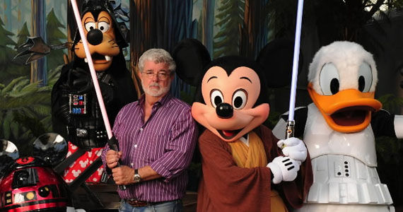 George Lucas Disney Star Wars J.J. Abrams Directing Star Wars: Episode 7 [UPDATED]