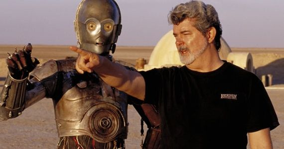 George Lucas Star Wars TV show Star Wars: Episode 1 3D Trailer Debuting with The Three Musketeers
