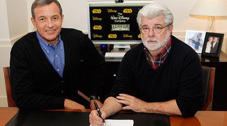 George Lucas on Star Wars Disney