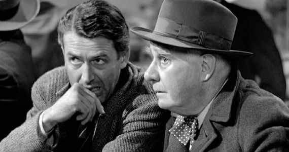 George and Clarence in 'It's a Wonderful Life'