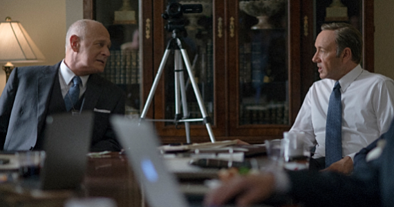 Gerald McRaney and Kevin Spacey in House of Cards Season 2 House of Cards Season 2 Review: What Went Right and What Went Wrong