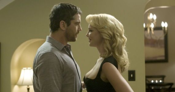Gerard Butler and Katherine Heigl in The Ugly Truth Romancing the Stone Remake Is Still Moving Forward