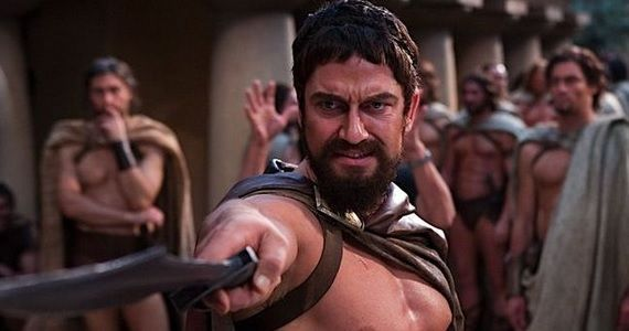 Gerard Butler as Leonidas in 300 Gerard Butler & Geoffrey Rush Join Alex Proyas Gods of Egypt [Updated]
