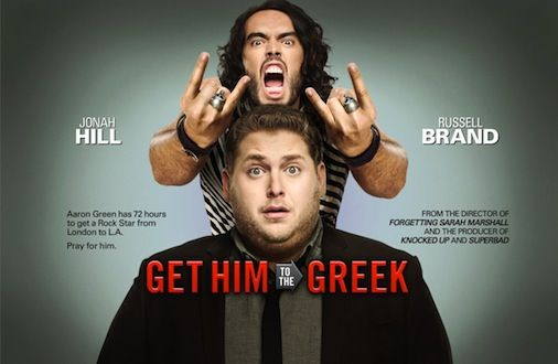 Get Him To The Greek poster.jpg Screen Rants 2010 Summer Movie Preview
