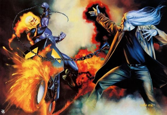 Ghost Rider vs Flash 'ghost Rider 2′ Will Feature