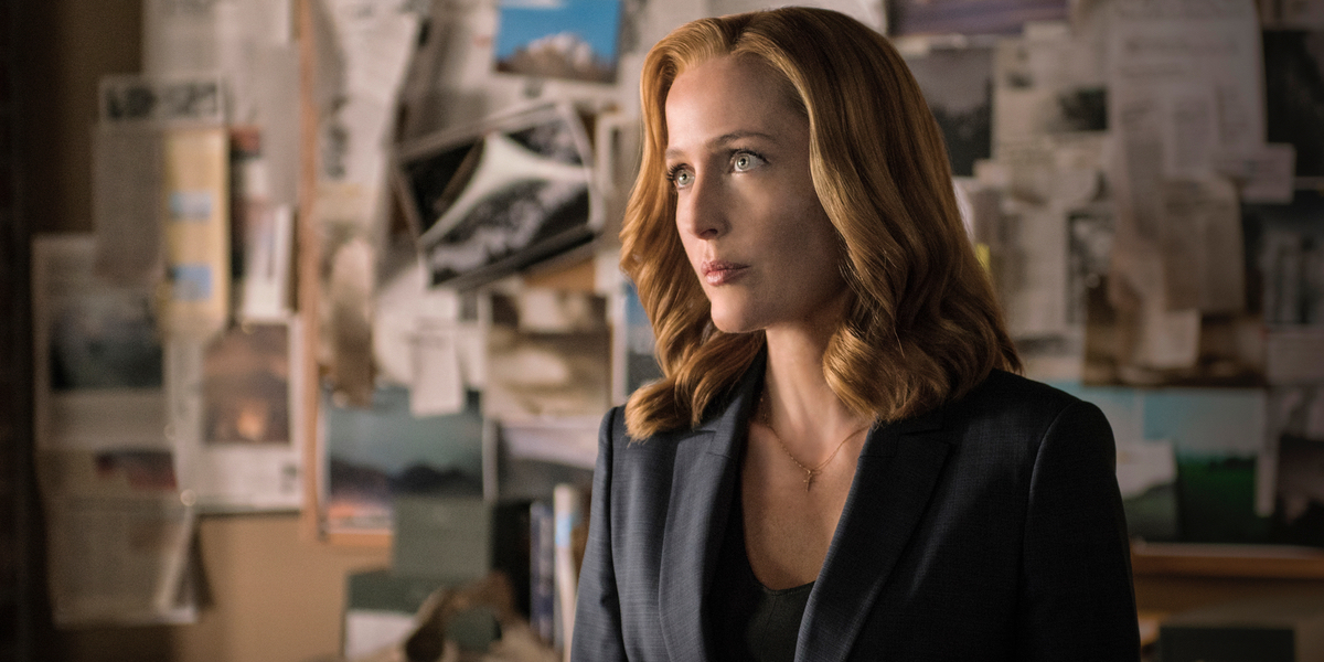 Gillian Anderson in The X-Files Season 10, Episode 6