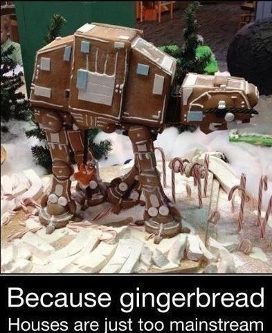 Gingerbread AT AT SR Geek Picks: Cloud Atlas Explained, 2012 Movie Trailer Mashup, Captain Planet Overload & More