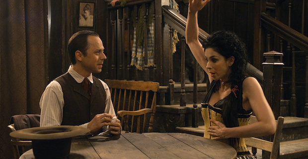 Giovanni Ribisi Sarah Silverman A Million Ways to Die in the West A Million Ways to Die in the West Review