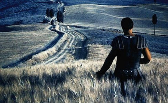 Gladiator wheat field 5 Movies I Could Watch Every Day