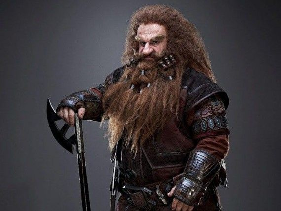 Gloin the Dwarf The Hobbit 570x427 Gloin the Dwarf The Hobbit