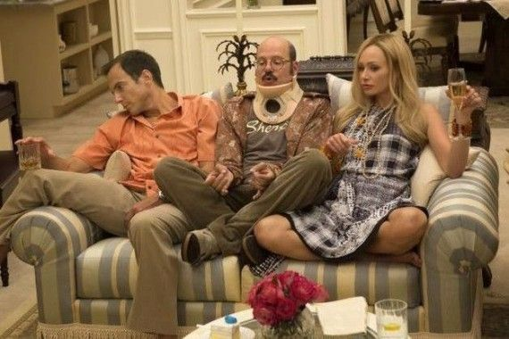Gob Tobias and Lindsay in Arrested Development Season 4 570x380 Gob, Tobias, and Lindsay in Arrested Development Season 4