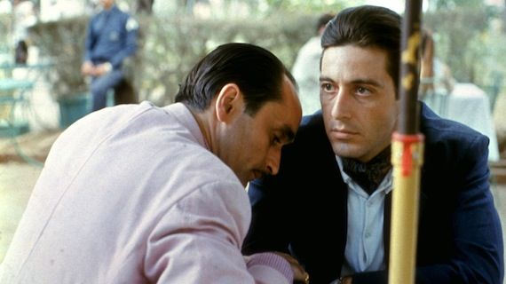 Godfather Part II Fredo and Michael The 12 Best Movie Sequels Ever Made