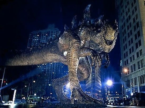 Godzilla 1998 Modern Day Modern Day Godzilla Film Striking in 2012