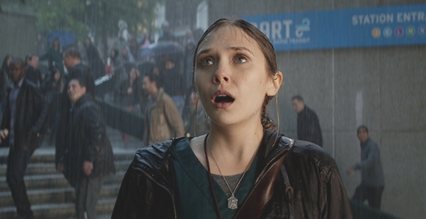 Godzilla 2014 Interview Elizabeth Olsen Godzilla Interview: Elizabeth Olsen Talks About Her First CGI Experience