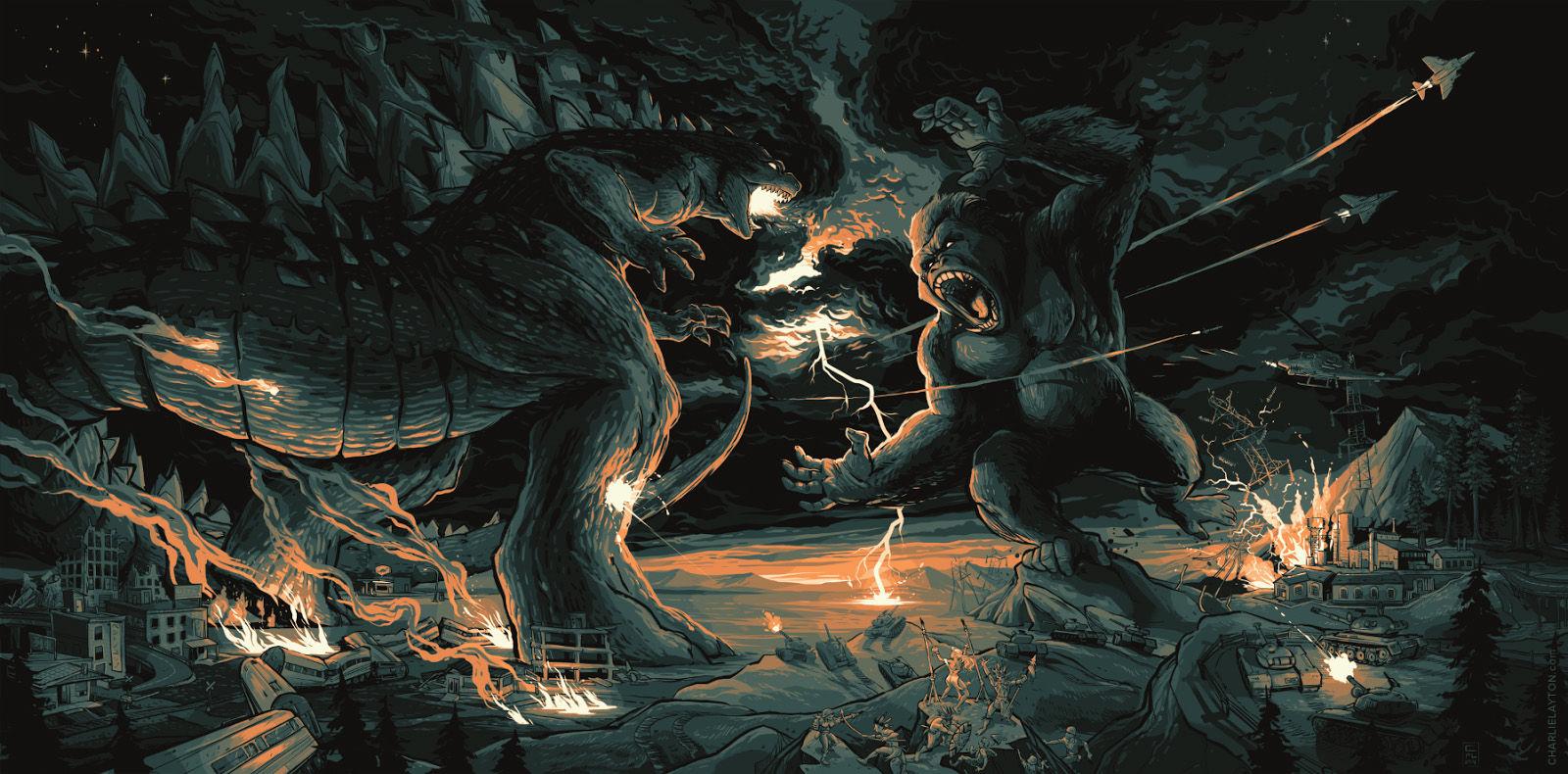 Godzilla vs. Kong的圖片搜尋結果