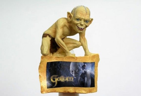Gollum Night Light 570x390 Gollum Night Light