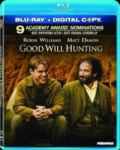 Good Will Hunting Blu ray3 DVD/Blu ray Breakdown: August 30, 2011