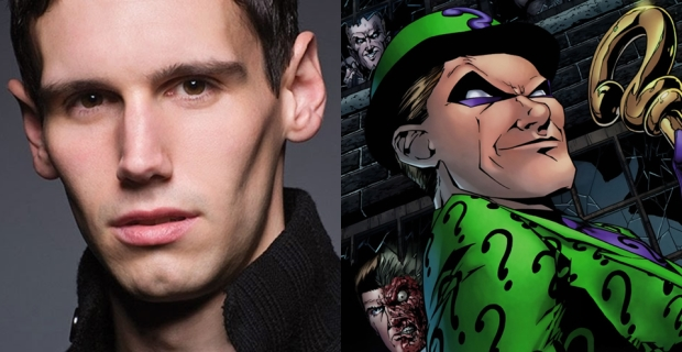 Gotham TV Show Riddler Cast Cory Michael Smith Gotham Casts Its Riddler With Cory Michael Smith