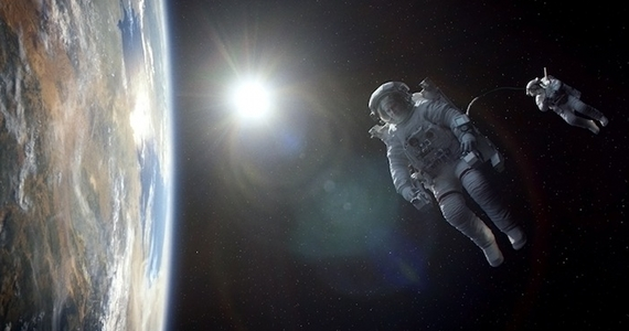 Gravity IMAX 3D Visual FX Effects Gravity Review