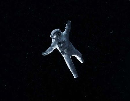 Gravity Opening Shot Sequence