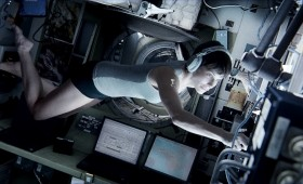 Gravity Still 1 280x170 New Gravity Images Show George Clooney and Sandra Bullock in the Ultimate Wilderness