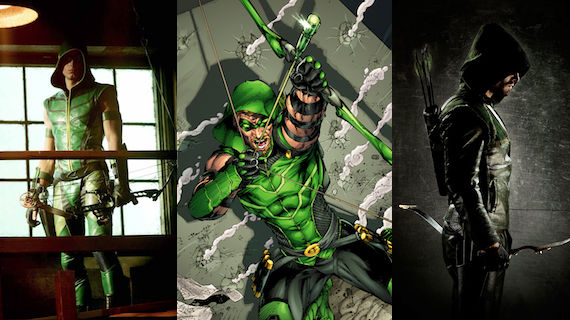 Green Arrow Costumes First Look at New Green Arrow TV Show Costume
