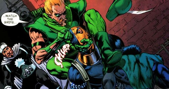 Green Arrow Deathstroke Arrow Extended Trailer Hints at Deathstroke the Terminator Appearance