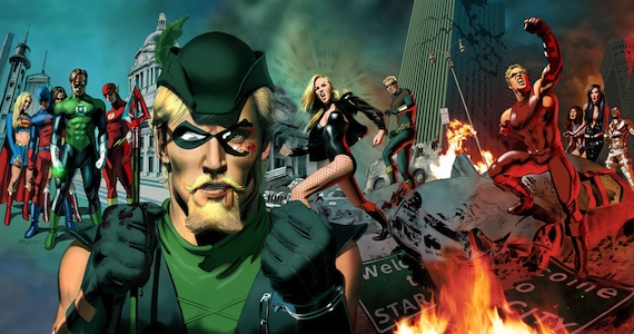 Green Arrow in the Justice League Movie Stephen Amell Wants to Play Green Arrow in Justice League