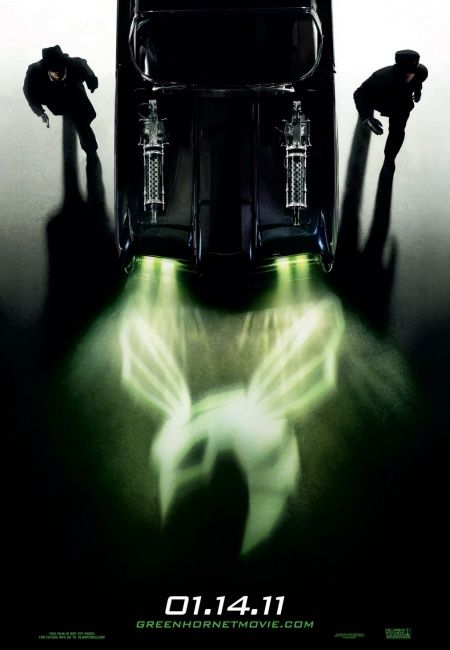 Green Hornet Movie Poster