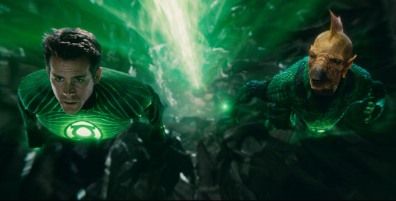 Green Lantern 3D effects Green Lantern Review