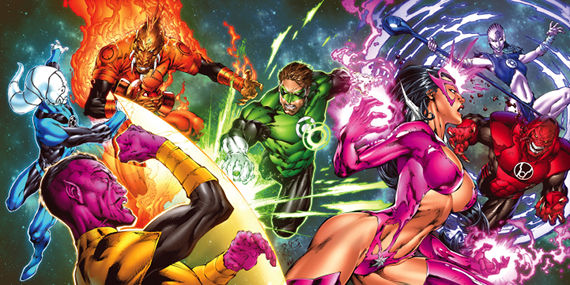Green Lantern War of Light 02 Should Hollywood Listen to Fanboys About Comic Book Movies?